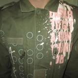Стильнячая куртка-пиджак мужская 48 размера
