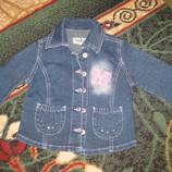 Пиджак, ветровка джинсовая