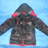 Куртка зимняя фирменная на возраст 6-7 лет