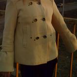 Укороченное пальто свободного кроя