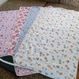 Водонепроницаемые, наматрасники на резиночках пеленки-непромокашки распродаж