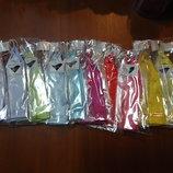 перчатки к нарядным детским платьям.