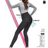 Livia push-up Bas bleu Хит среди леггинс с утяжкой черные леггинсы c эффектом push-up