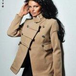 Кашемировое пальто бежевое, размер М-450 грн