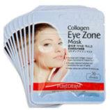 Коллагеновые маски - патчи под глаза - Purederm Collagen Eye Zone Mask 30 шт