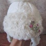 Зимняя шапка Маіка девочке об. 46-49