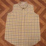 Отличная женская рубашка без рукавов. Размер 54. В наличии.