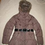 Куртка стильна зимова Made with Love Оригінал Німеччина на вік 10-11 років на ріст 140-146 см