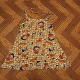 Легенькое платье - сарафан на девочку 3 - 5 лет. В наличии.