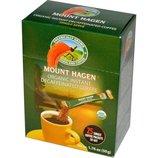 Органический растворимый кофе с кофеином и без кофеина Mount Hagen