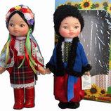 Лялька українка, українець, комплект ляльок українців в народному одязі. Кукла украинка и укринец,