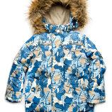Зимняя куртка курточка для мальчика из мембранной ткани