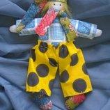 маленькая кукла- тильда гномик