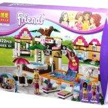 Конструктор Bela 10160 Френдс Городской бассейн аналог Lego Friends 41008