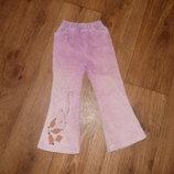 Джинсы,штаны,брюки для девочки 104 см 3-4 годика