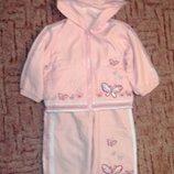 Спортивный костюм утепленный, для девочки, 12 месяцев