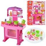 Детская кухня 661-51 музыкальная, со световыми эффектами.