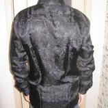 Рубашка классическая черная мужская Nino Pacoli