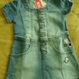 джинсовое платье Wenice, р18-24