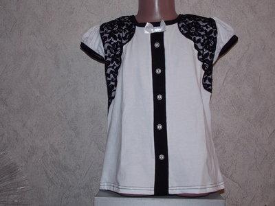 bb7f3e03260 Новые нарядные белые блузки на рост 110-128см  115 грн - футболки ...