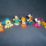 разные маленькие игрушки