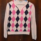 Кофта реглан свитер размер S - шерсть, ангора - теплый.