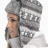 фирменная зимняя шапка adidas Uschanka W55256