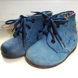 Качественные кожаные ботинки р. 11,5, подошва 12,5 см