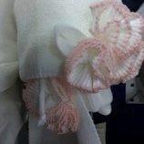 комплект шапка и шарф обьем 46,48,50,ceremony