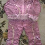 Куртка и штаны деми комплект для девочки
