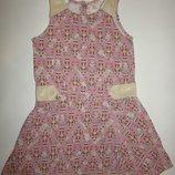 Летнее платье на девочку 4-5 лет