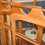 Вешалка деревянная - напольная Бук натуральное дерево Плечики для одежды