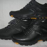 Зимние ботинки полуспорт натур. нубук/натур.кожа натур.мех р.40-45 модель В2065