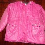 Куртка плащик на 12-18 мес, р. 86 демисезон на флисе