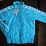 Новая демисезонная фирменная детская куртка Adidas, рост 152, 164. Оригинал. Распродажа