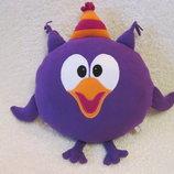 Мягкая игрушка - подушка Смешарики сова Совунья ручная работа