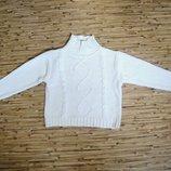 Стильный, красивый свитер их 100% хлопка для мальчика или девочки, рост 110 см