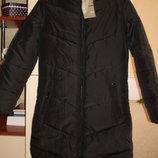 Пальто для девочки новое черное демисезонное размер S-XS