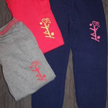 Утепленные спортивные брюки на девочек