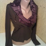 Нарядная женская блузка,кофта,блуза,футболка размер 46-48 фирмы ELETTI, б/у