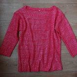 Бронь Яркий розовый свитерок осень- зима. Классный
