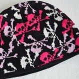 Двойная шапка для подростков
