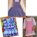 Летние детские платья/сарафаны