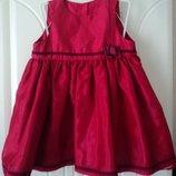 Фирменное нарядное праздничное платье на 18-24 мес. и дальше