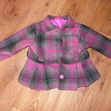 Осенне-весенне пальто на девочку 80,86 см