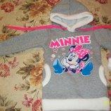 Распродажа - Очень теплое худи Minnie