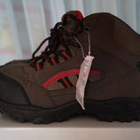 Ботинки демисезонные коричневые для мальчика новые р. 34, 36