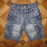 Моднячие тоненькие шорты Next мальчику на 1,5-3 года как новые