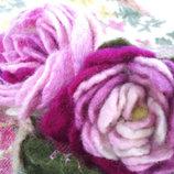 Украшение ожерелье цветы тренд