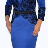 Эксклюзив Шикарное платье 48-50 Высокое качество